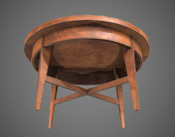 3D model game-ready PBR Table