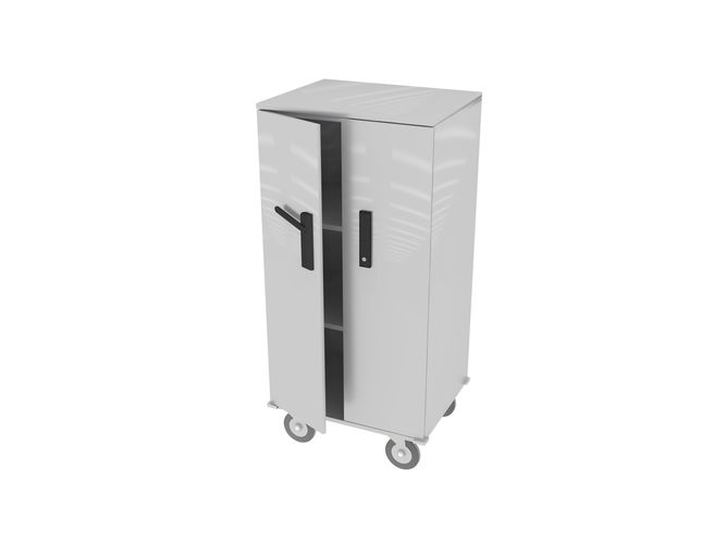 stainless steel cabinet 3d model max obj mtl 3ds fbx dwg 1