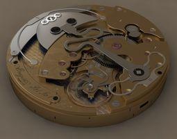 3d watch mechanism breguet