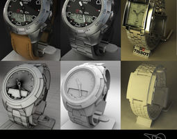 3D model Tissot Collection