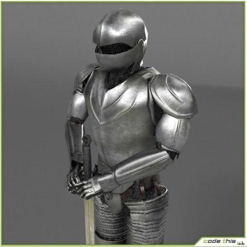 Medieval Armor3D model