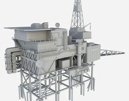 Piper Alpha 3D model