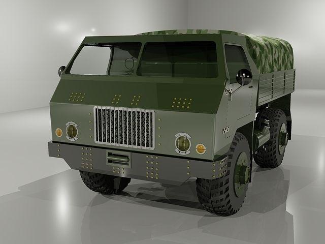 TAM-110 light utility truck3D model