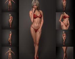 Woman 3D Model