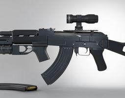 Ak-47 Full 3D