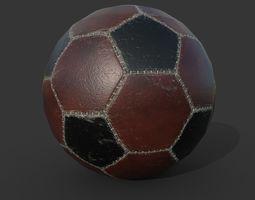 Soccer Ball PBR low poly 3D model