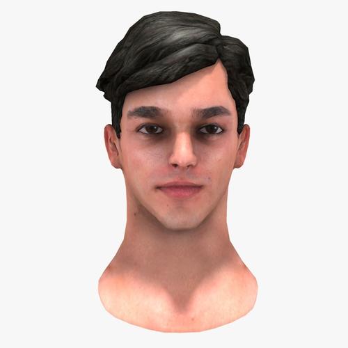 Male Head3D model