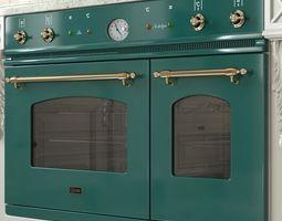 Oven ILVE Nostalgie Double D900 NVG 3D model