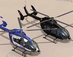 3d model ec145 law enforcement