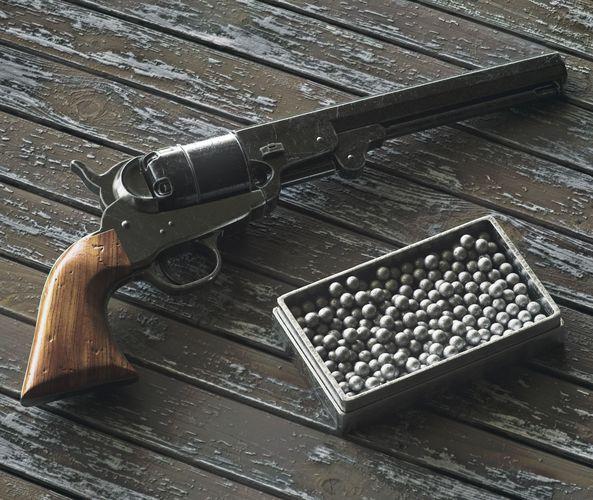 3D model Colt Navy 1851 | CGTrader