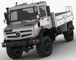 3D model Mercedes Unimog U4023 - U5023
