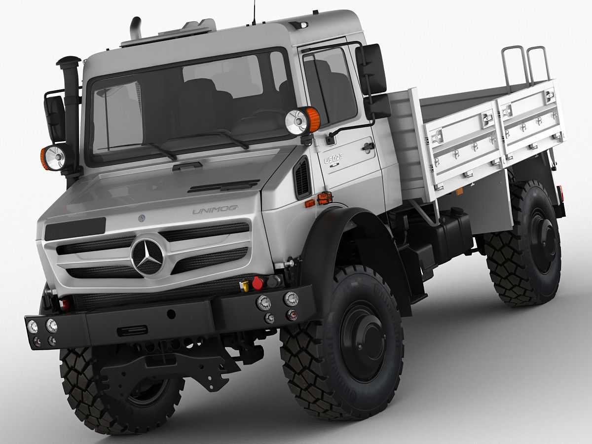 mercedes unimog u4023 u5023 3d model max obj 3ds fbx c4d lwo lw lws. Black Bedroom Furniture Sets. Home Design Ideas