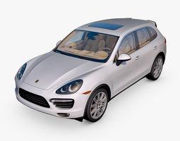 3D model Porsche Cayenne Turbo 2011