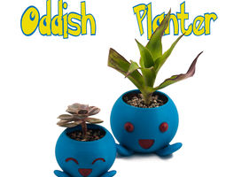 3D printable model Oddish Planter -Pokemon Planter - 4