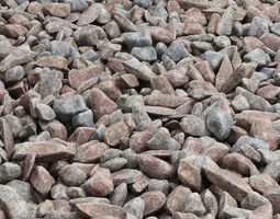 Rock stone collection n14 3D model