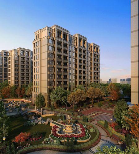 residential building 015 3d model max tga 1