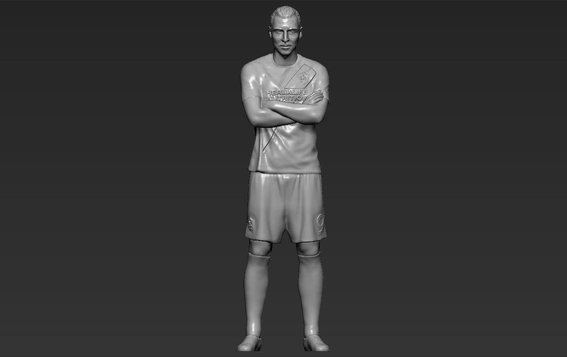 Zlatan Ibrahimovic LA Galaxy 3D printing ready stl obj formats