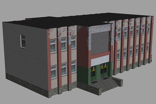 Shop 013D model