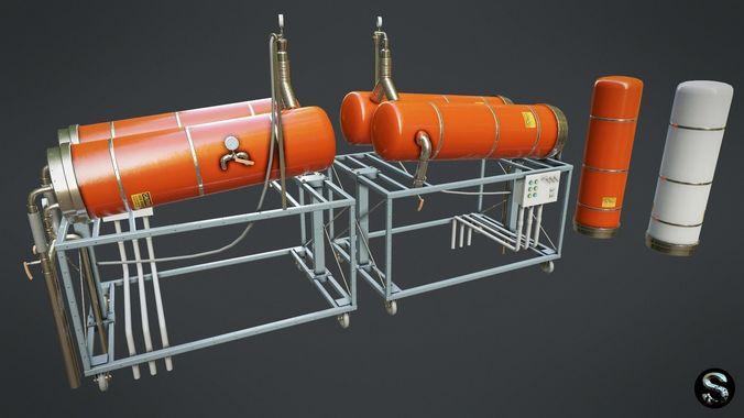 Gas Cylinder 2
