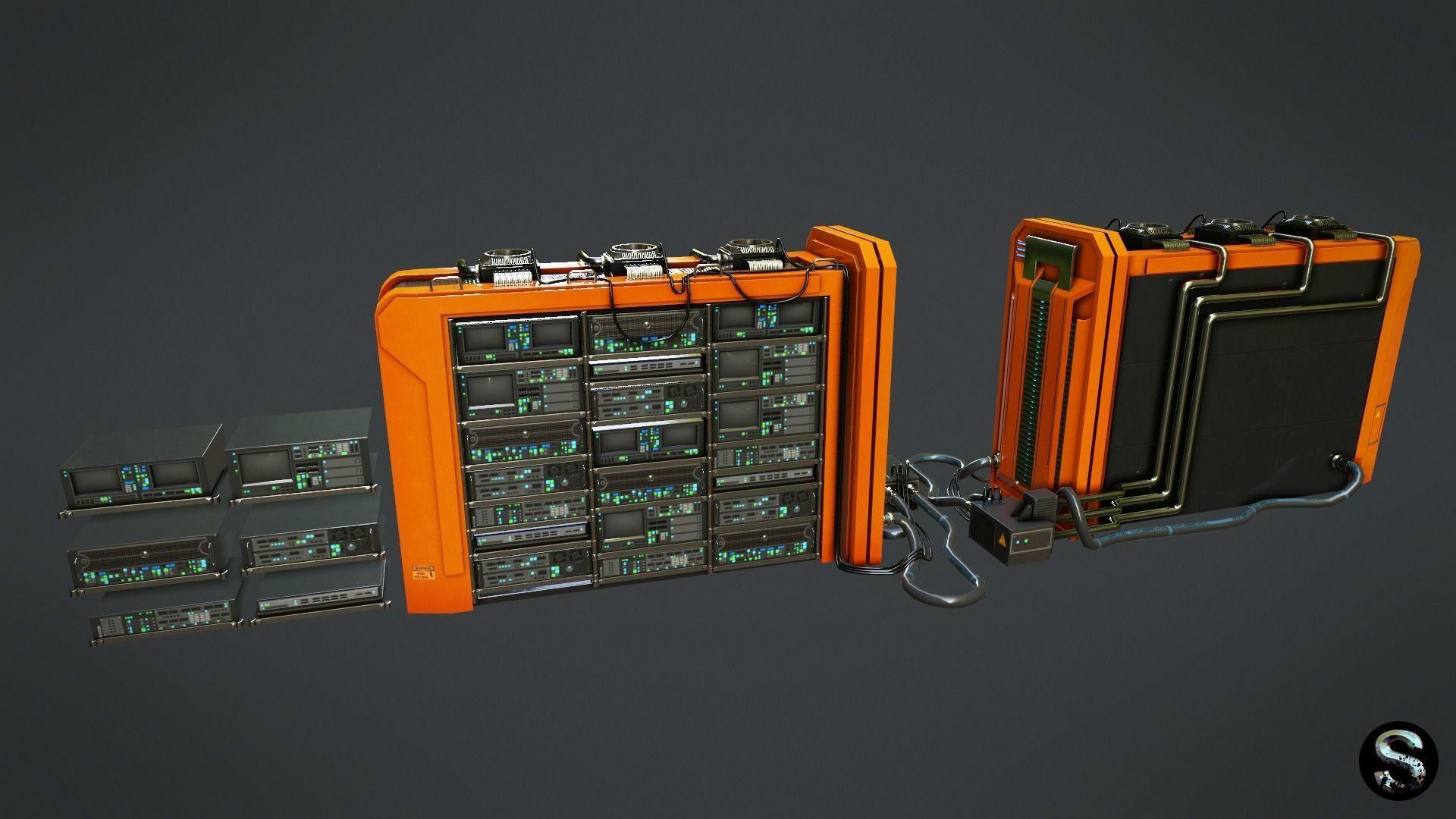 Sci-Fi Server