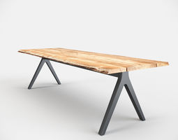 gloster raw table 3d model