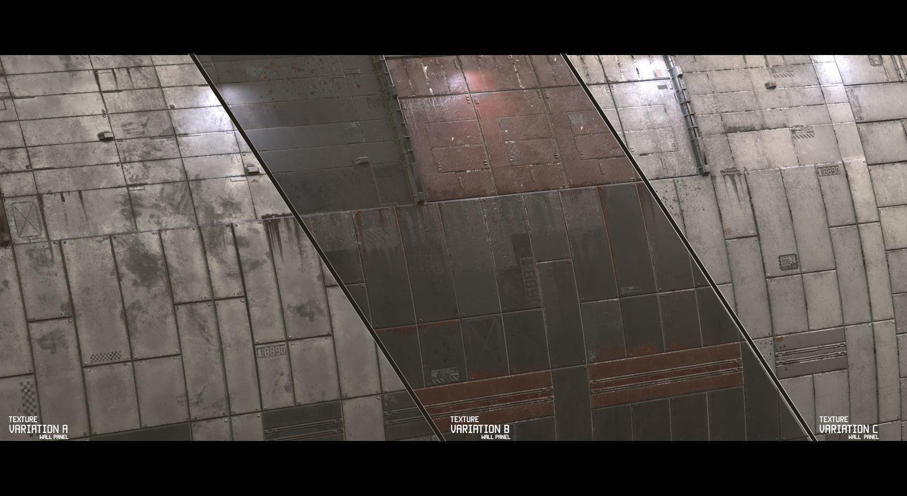 sci fi wall texture. Contemporary Wall Scifi Wall Panel Texture Set D 3d Model  To Sci Fi Wall Texture