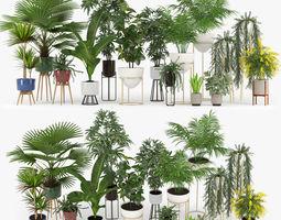 3D model Plants Set