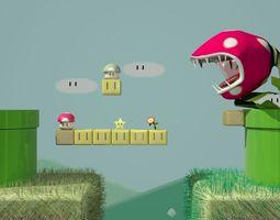 Mario Set 3D Model