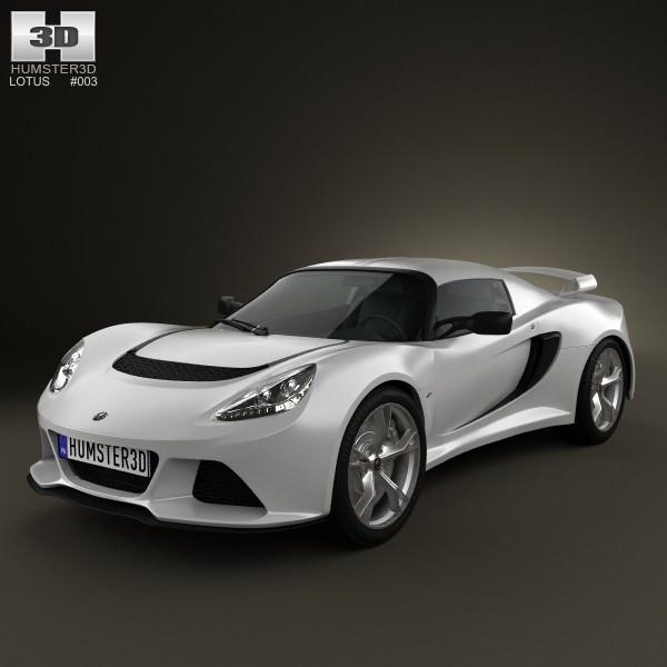 Lotus Exige S 2012 3d Model