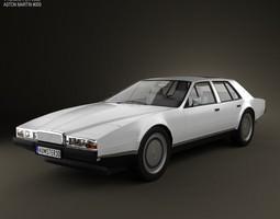 3D Aston Martin Lagonda 1985