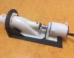 3D print model Waterjet propulsion unit