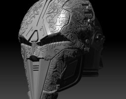 SWTOR Bengal Sith Acolyte helmet 3D printable model