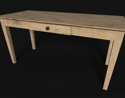 Wooden Table PBR 3D model