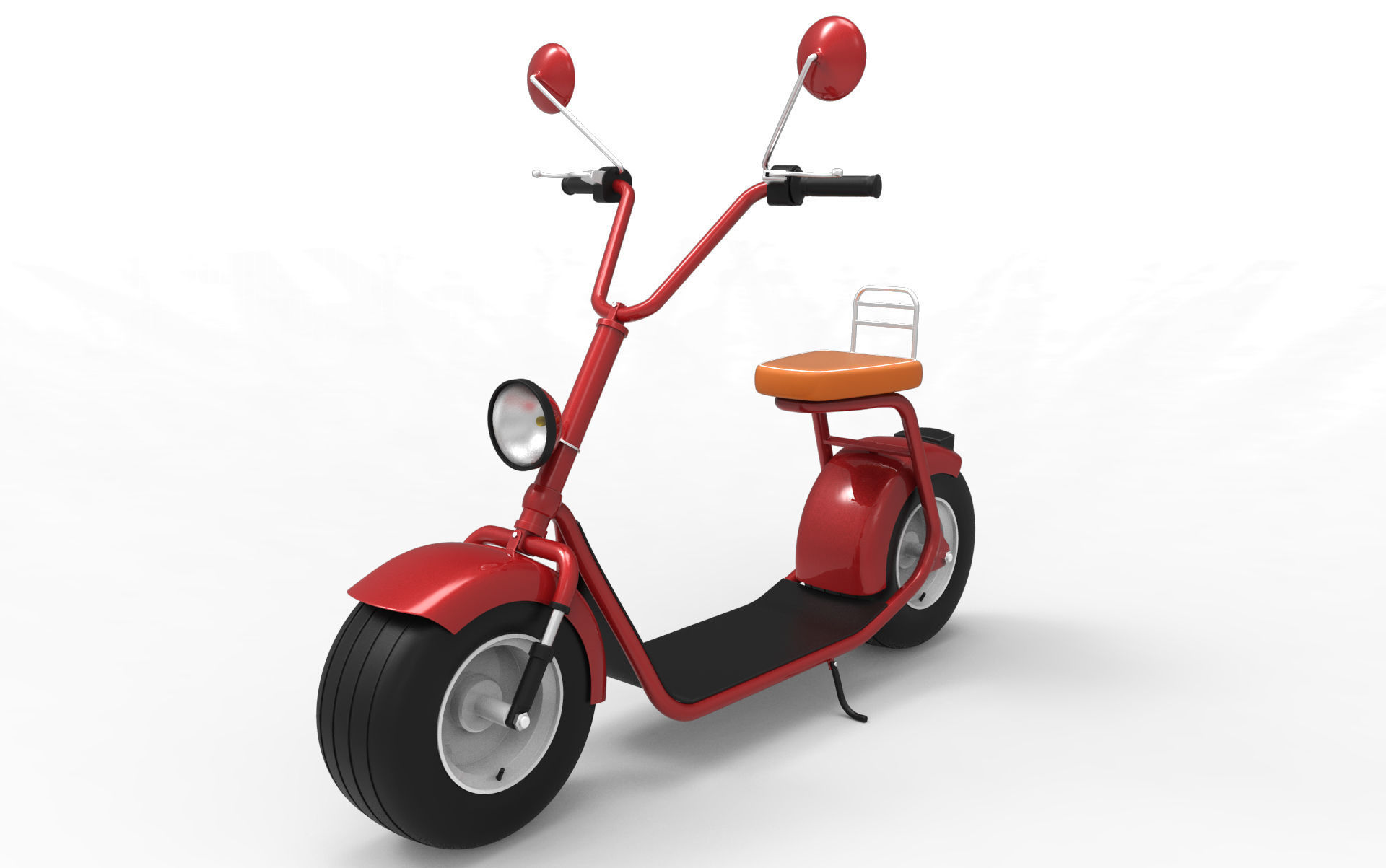 Big Electric Scooter