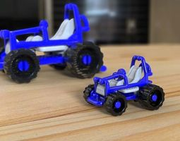 Buggy Toy kinder surprise - CAD model