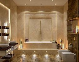 Toilets- Group-02 3D model bathroom