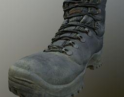 Worn Shoe 3D model low-poly