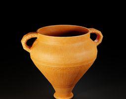 3D model Ancient Pottery POT 8