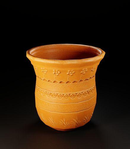 ancient pottery pot 2 3d model low-poly fbx 1
