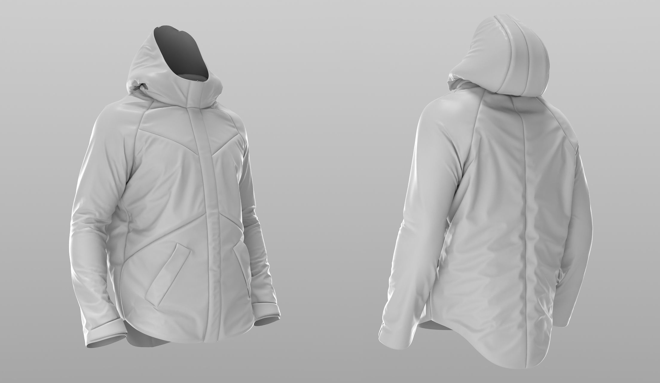 Puffer Jacket - Coat