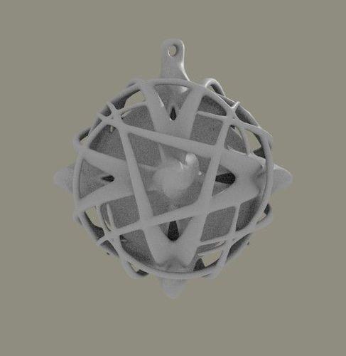 globe for Christmas tree3D model