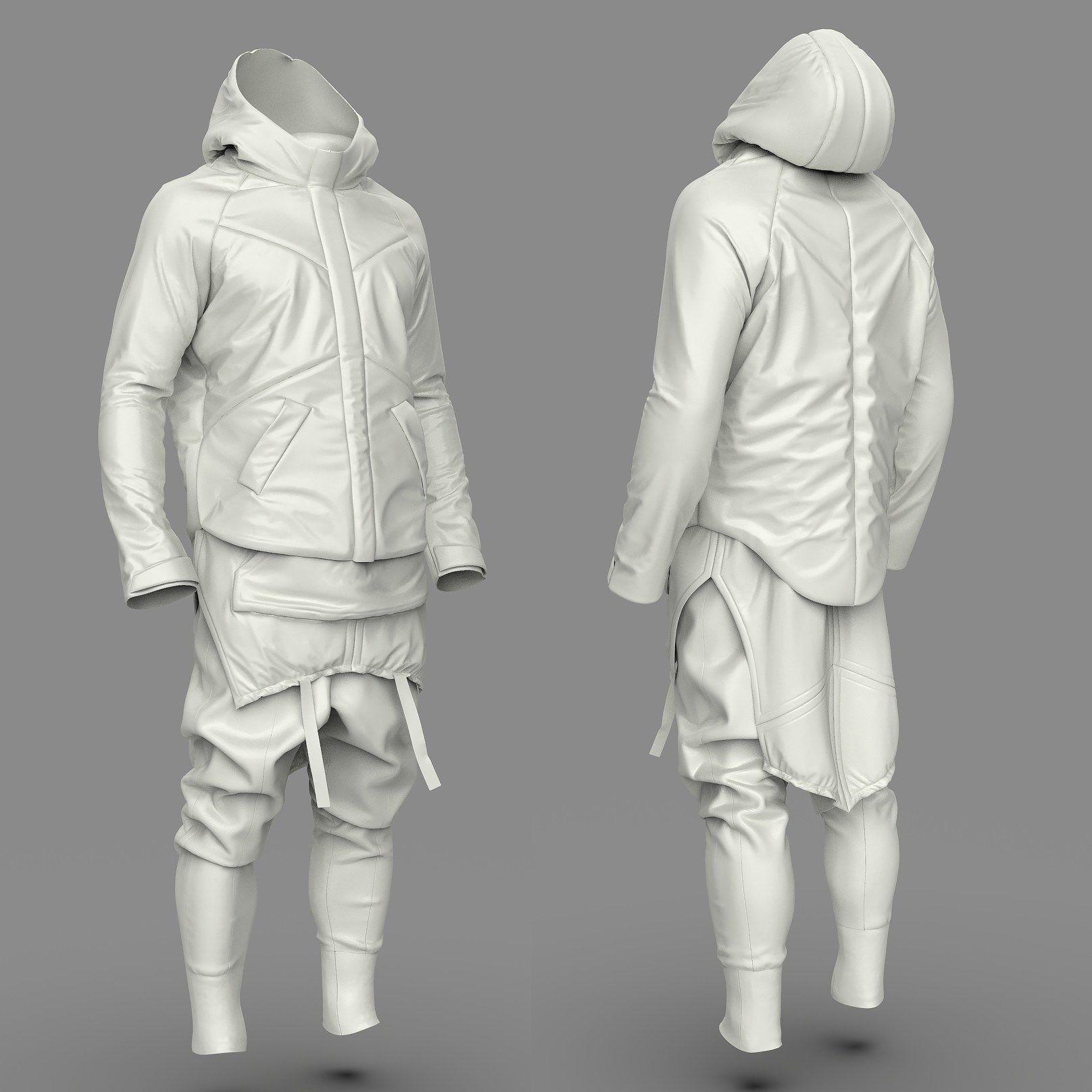 Si-Fi Costume All Parts