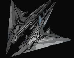 fi 3D model StarShip