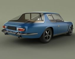 Jensen Interceptor 3D