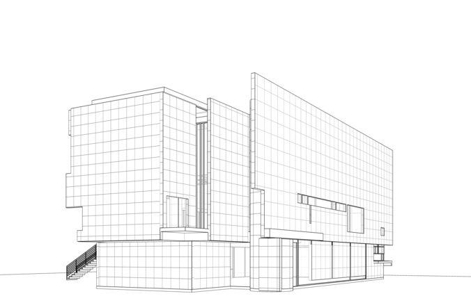 Rachofsky House Revit   3D model on