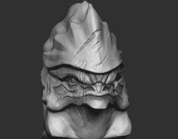 3D print model Urdnot Wrex from Mass effect