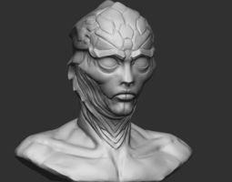 3D printable model Thane Krios from Mass effect