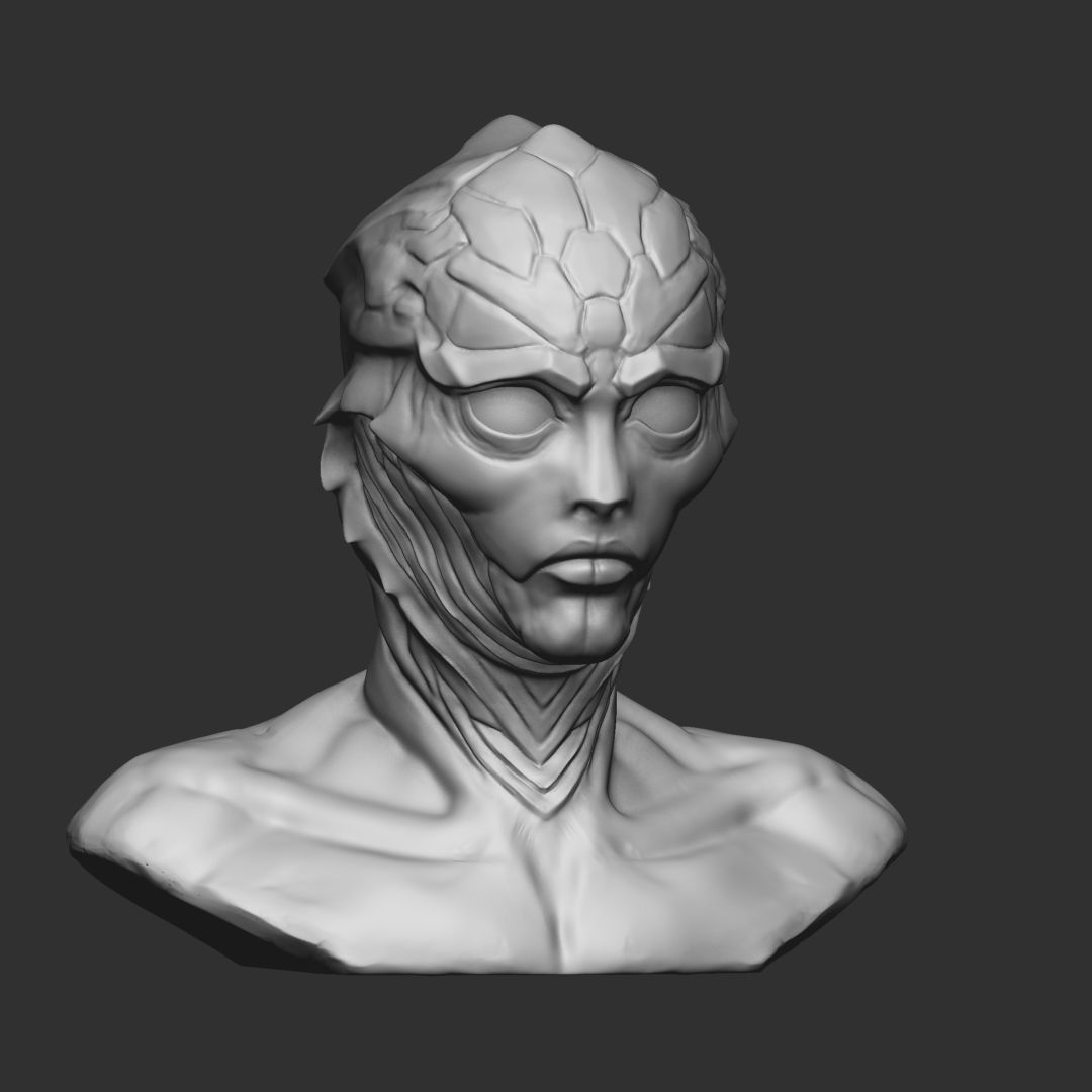 Thane Krios from Mass effect