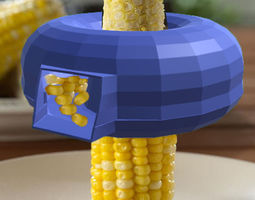 Corn Kerneler Kitchen Tool 3D printable model