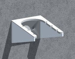 Wall bracket - 3D printable model